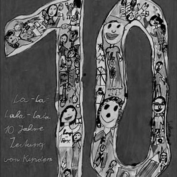 Plakatmoriv vom achtjährigen Redaktionskind Selma